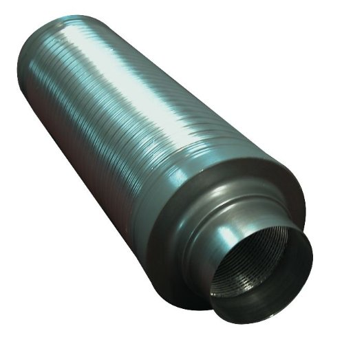 Hydrogarden System Air 125mm 5-inch Flexible Silencer 08-395-010
