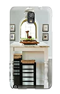 Sanp On Case Cover Protector For Galaxy Note 3 (transitional White Kitchen With Marble Island)