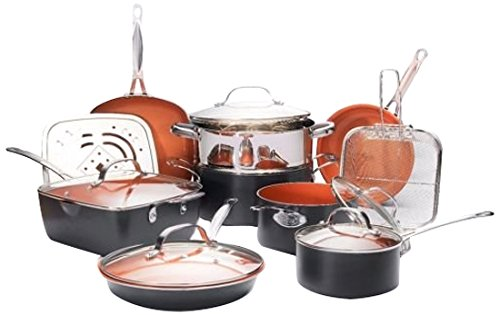 Gotham Steel 1752 Ultimate 15 Piece All in One Chef's