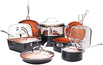 15-Pc. Gotham Steel Ultimate All in One Chefs Kitchen Set