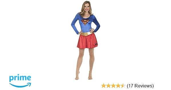f67280568b Amazon.com  DC Comics Superman Bodysuit and Skirt Costume Set  Clothing