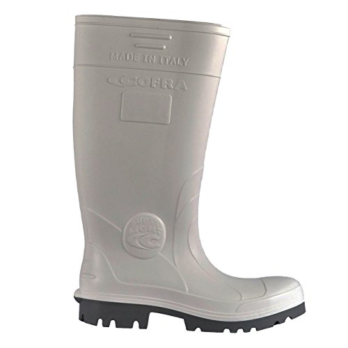 Cofra NEW Galaxy O4 CI SRC fo par de zapatos de seguridad talla 42 color blanco