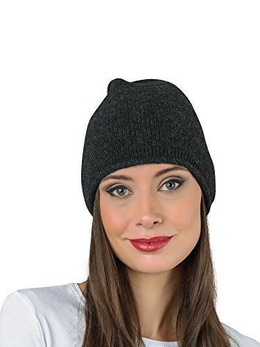 In Punto Cashmere Italy Para Mujer Gorro Gris De ZdFwqIw