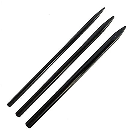 /& Other Cords by Jig Pro Shop with Ferrocerium Fire Starting Rod ~ Marlin Spike for Paracord Knotters Tool II Leather Black