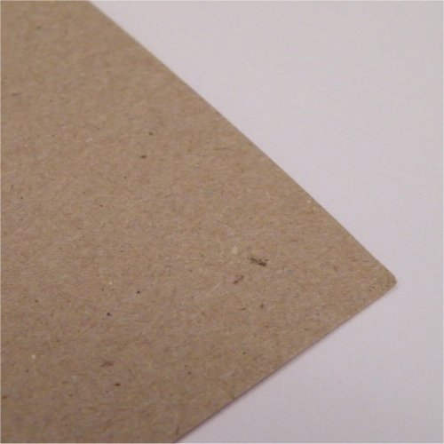 Eco 10 fogli di formato A4 Ruvido Brown Kraft Carta 280gsm