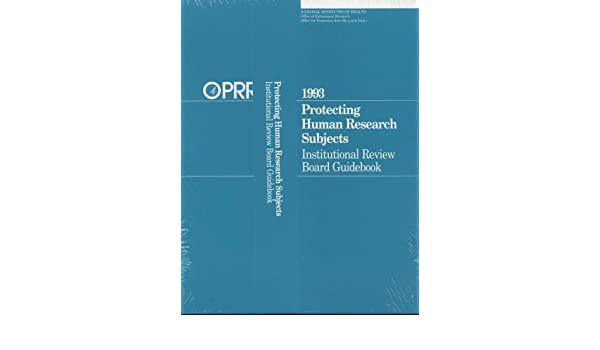 protecting human research subjects institutional review board rh amazon com institutional review board handbook Institutional Review Board IRB