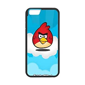 iphone6 4.7 inch case , red bird angry birds Cell phone case Black for iphone6 4.7 inch - LLKK0740268