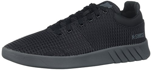 K-Swiss Men's Aero Trainer T Sneaker, Black/Castlerock, 10.5 M - Aero Men