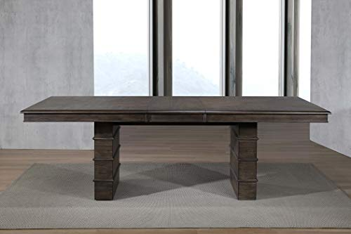 Sunset Trading DLU-CA113 Cali Extendable Dining Table, Brown ()