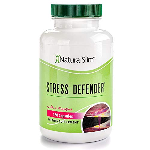 NaturalSlim Anti-Stress Supplement to Improve Your Metabolism A Weight Loss Specialist All-Natural Remedy for Sleeping & Weight Loss Difficulties Caused by High Levels of Cortisol Produced by Stress