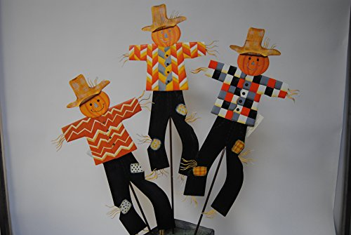 (The Round Top Collection Trendy Scarecrow Trio - Assorted 3 -)