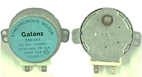 GALANZ SM-16T AC 30 V 30/3 W motor sincronizado SM16T para ...