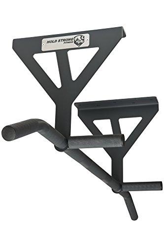 HOLD STRONG Fitness - Klimmzugstange mit verschiedenen Griffweiten zur Deckenmontage / Profiqualität und Studiozulassung nach EN 957 / 10 Jahre Herstellergarantie