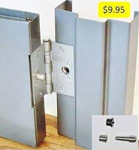 Steel Door Lock Security Hinge Protector With Transfer