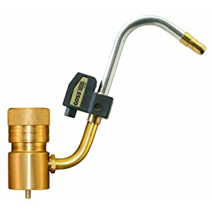 Goss GP-360JL J-Style Torch with Swivel Tip and Igniter