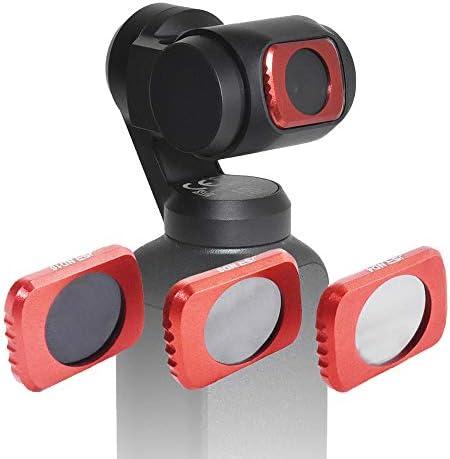 [GLIDER] DJI Osmo Pocket用アクセサリー NDフィルター セット 3種 (ND4 / ND8 / ND16) (オズモポケット/オスモポケット対応) GLD3464MJ70