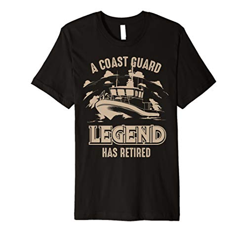 A Coast Guard Legend Has Retired Shirt | Cool Volunteer -