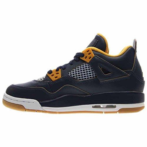 Gym Retro Black Navy Kids Basketball Bg Red Jordan Midnight Gold Shoe 4 Metallic Air Nike White I8wnaqT