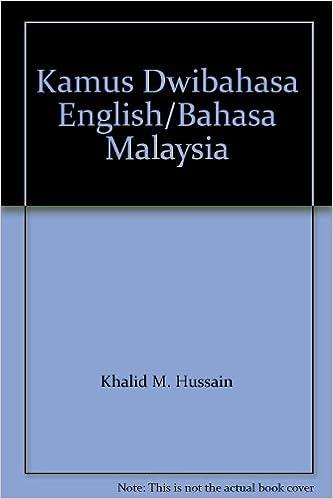 Librarika Kamus Dwibahasa Bahasa Inggeris Bahasa Malaysia Bahasa Malaysia Bahasa Inggeris English Malay And Malay English Dictionary
