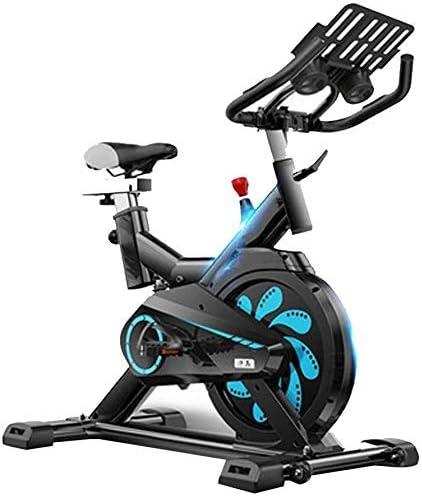 ZT-TTHG エアロバイク屋内サイクリング、調節可能なハンドルバー&シート、スマートアプリのコンピュータが家庭の使用カーディオワークアウトのためのバイクスピニング、速度距離時間カロリー心拍数センサーを読み込み、Excersizeバイク