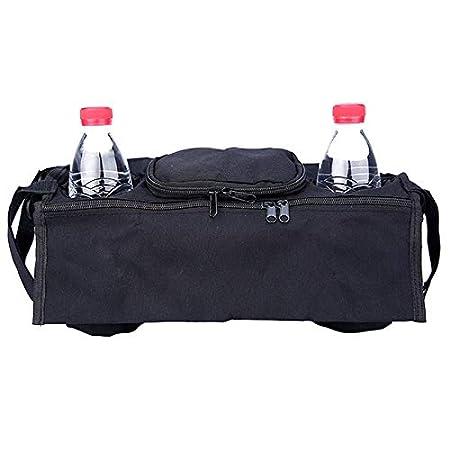 Vi.yo Kinderwagen Tasche Aufbewahrungstasche Buggys Organizer Aufbewahrungskorb aus Oxfordtuch f/ür Stroller Brown