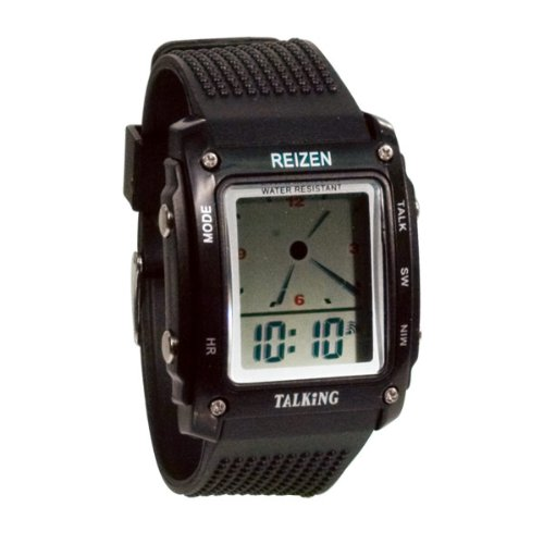 Reizen Talking Analog-Digital Watch- Spanish