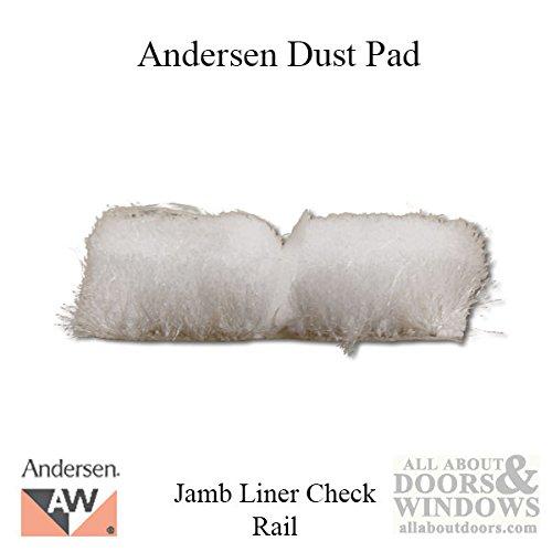 Dust Pad, Jamb Liner Check Rail, Andersen Tilt-Wash Double Hung