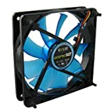 Gelid Solutions WING 12 UV 120mm Case Fan - Blue FN-FW12-15-B