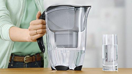 BRITA Elemaris Extra Large Water Filter Jug with 3 Cartridges - Black 77b8f8bf6201