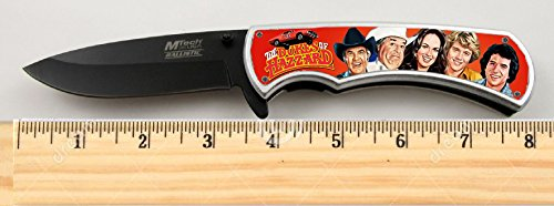 The Dukes of Hazzard TV Show Limited Edition Tactical Spring Assisted Knife 4.5