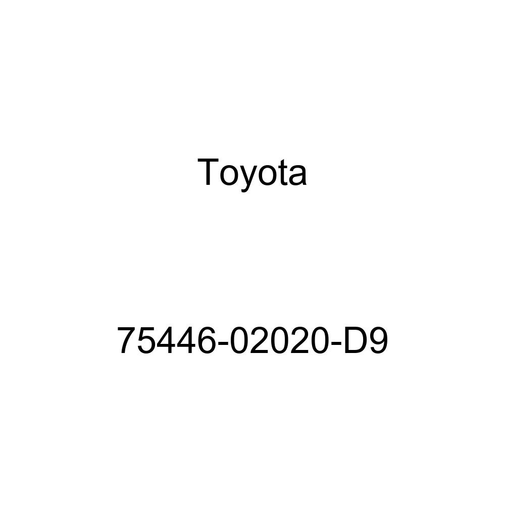 TOYOTA 75446-02020-D9 Name Plate