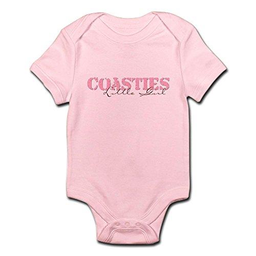 CafePress - Coasties Little Girl - Cute Infant Bodysuit Baby Romper