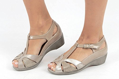 Visón PieSanto Cosmo 180160 à Chaussure Femme Semelle Confort Amovible Sandales qaOzngq6
