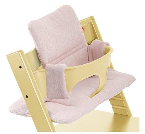 Stokke Tripp Trapp Chair Cushion, Pink Tweed