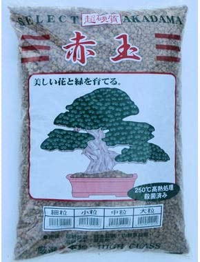 Amazon Com Japanese Heat Treated Super Hard Akadama Bonsai Soil Small Grain 14 L 21 Lbs Garden Outdoor