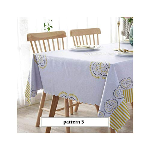 Waterproof Tablecloths Background Cloth Plastic Home Decoration,Pattern 5,135X250Cm