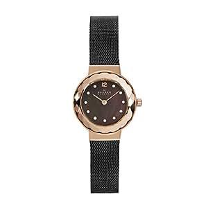 Skagen Women's 456SRM Leonora Grey Mesh Watch