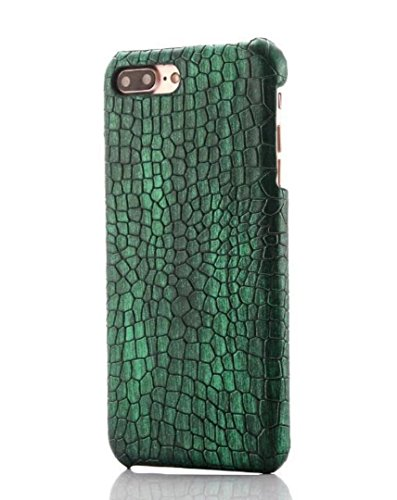 Losin Compatible Snake Case for iPhone 7 Plus/iPhone 8 Plus 5.5 Inch Fashion Luxury Crocodile Lizard Snake Skin Pattern PU Leather + Hard PC Back Case