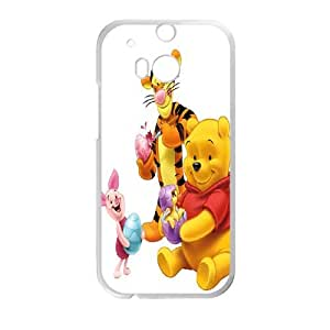 Winnie-The-Pooh HTC One M8 Cell Phone Case-White Zsvum