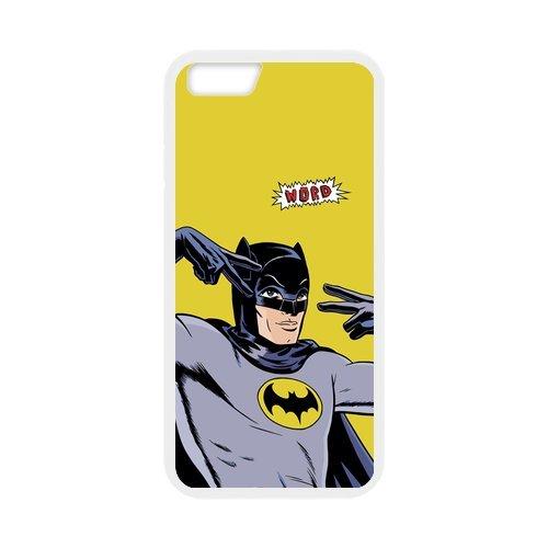 "Fayruz - iPhone 6 Rubber Cases, Batman Hard Phone Cover for iPhone 6 4.7"" F-i5G283"