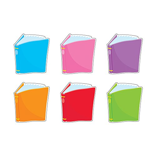 Trend Enterprises Classic Accents, Bright Books, 6 Inches, Set of 36