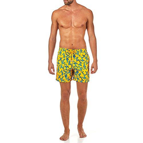 Vilebrequin Danse DU Feu Swim Shorts - Men - Turmeric - L by Vilebrequin