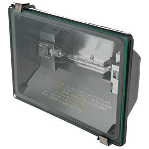 Price comparison product image Utilitech 6.625-in 1-Head Halogen Bronze Switch-Controlled Flood Light