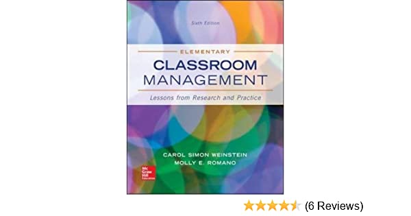 classroom management research articles