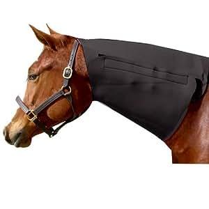 Intrepid International Neoprene Neck Horse Sweat, Black