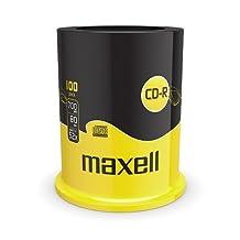 Maxell 100 pk Recordable Cd 80 Mins