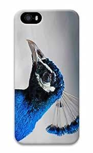 iPhone 5 3D Hard Case Tropical Blue Bird