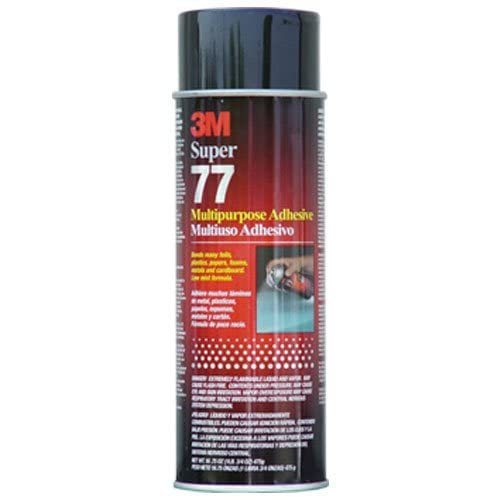 3M 21210 Super 77 Spray Adhesive 24 Oz Can - 6-Pack