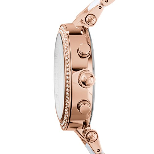 Michael Kors Women's Parker Rose Gold-Tone Watch MK5774