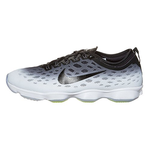 Nike Damen Zoom Fit Agility Low Top Schnürrunning Sneaker Rot / Drucken